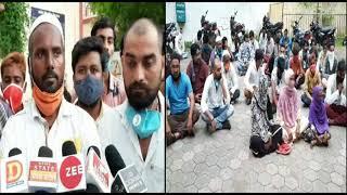 खंडवा हफीज हत्याकांड : मास्टरमाइंड को पकड़ने की मांग, धरने पर बैठे परिजन