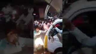 Hyderabad Mai Rajendranagr Ilaqe Mai GAU RAKSHAK | Gaye (Cow) Samajkar Bail (Oax) Ki Gadi Ruk Di