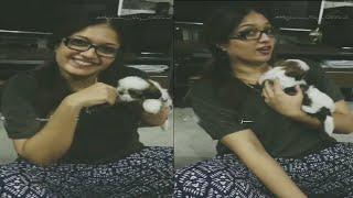 Meghana Raj new video goes full viral in social media   Chirajeevi Sarja   Dhruva Sarja