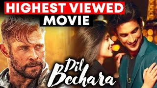 Dil Bechara BECOMES Highest Viewed Movie On Opening Day On OTT Platform | Sushant Rajput NEW Record
