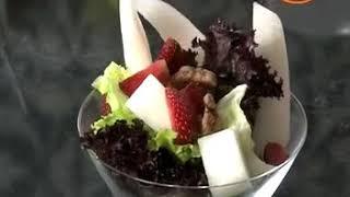 Healthy diet tips Strawberry Melon Summer Salad recipe गर्मियों के लिए ठंडा ठंडा सलाद