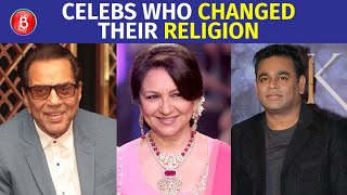 Dharmendra To Sharmila Tagore To AR Rahman - Celebs Who Changed Their Religion