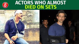 Akshay Kumar To Hrithik Roshan - Celebs Who Almost Died On Sets Of Their Movies