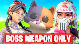 Boss Kit, Boss Jules, Boss Ocean! All Bosses Mythic Weapon Loot Challenge - Fortnite Season 3