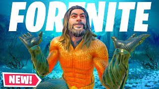 FORTNITE NEW UPDATE - EXPLORING ATLANTIS NEW POI! WATER LEVEL DOWN in Season 3