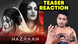 Nazraan Teaser NEW Song | Reaction | Review | Himanshi Khurana