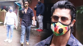 Vidyut Jammwal Spotted At Kailasa Studio Versova For His Upcoming Film Khuda Hafiz