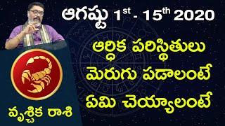 Vruschika Rasi Aug 1st - Aug 15th 2020 | RasiPhalalu Telugu | Mantha Suryanarayana Sharma | Scorpio