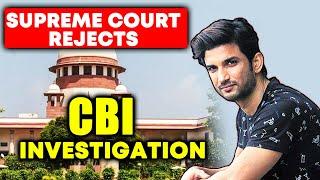 Supreme Court Dismisses Plea Seeking CBI Enquiry Into Sushant Singh Rajput's Case