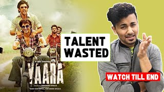 Yaara Movie Review By Rahul Bhoj | Vidyut Jammwal, Amit Sadh, Shruti Haasan, Vijay Varma