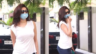 Khatron Ke Khiladi 10 Winner Karishma Tanna Spotted At Tseries Office