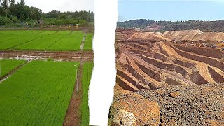 #MiningHavoc | Who are the real mining-affected people? Watch how fields are destroyed by mining