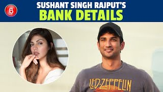 Sushant Singh Rajput's Bank Statements REVEALED | Rhea Chakraborty | Ankita Lokhande