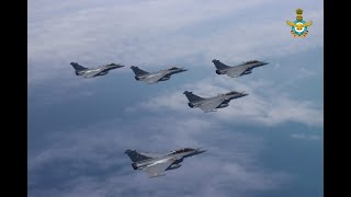 We welcome the first batch of Rafale fighter jets in India.