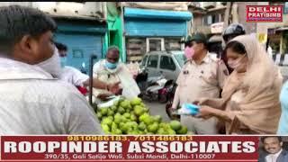 People praised the unique initiative of North District DCP Monica Bhardwaj IPS. dkp news