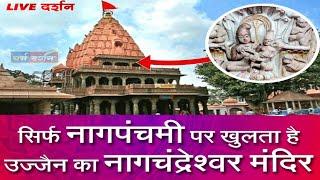 महाकाल मंदिर : नागचंद्रेश्वर मंदिर:नागपंचमी |Mahakal ujjain nagchandreshwar Live