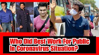 SRK, Salman, SRK, Sonu Sood - Who Did The Best For Public During Coronavirus Situation?