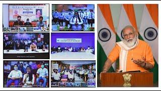 PM Shri Narendra Modi addresses Grand Finale of Smart India Hackathon 2020