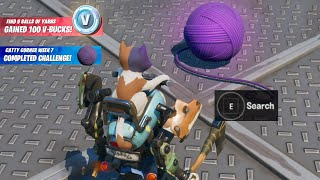 Fortnite Boss Kit Balls of Yarn at Catty Corner Challenge Reward