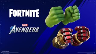 FORTNITE x AVENGERS (How to Get Free Hulk Smasher Pickaxe)