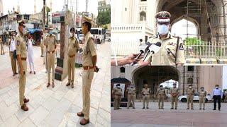 Cp Anjani Kumar At Charminar | On Eid Ul Adha | @ SACH NEWS |