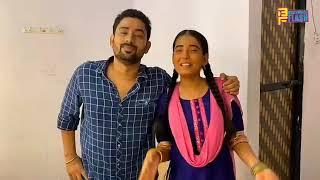 Sarika aka Gudiya celebrating Raksha Bandhan with Pappu Manmohan tiwari-Gudiya Humari Sabhi Pe Bhari