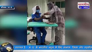 मुख्यमंत्री शिवराज सिंह चौहान ने अस्पताल में ही मनाया राखी का त्योहार। #bn #mp