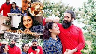 Yash raksha bandhan celebration 2020 | Rocking Star Yash