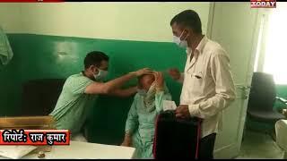 4 AUG 14 अनुबंध चिकित्सा अधिकारियों  के समर्थन में आए रेजीडेट डाॅक्टर एसोसिएशन हमीरपुर