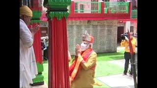 Ram Mandir Bhoomi Pujan: PM Modi performs 'Aarti' at Hanuman Garhi Temple in Ayodhya