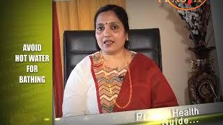 Avoid hot water for bathing Dr Vibha Sharma Ayurveda Expert गरम पानी से नहाने से बचें