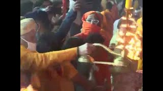 Watch: 'Aarti' being performed on banks of Sarayu river in Ayodhya
