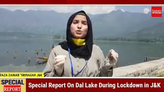 Tourism industry in huge loss due to pandemic/Special Story on Shikara in Dal Lake by Faza Zainab