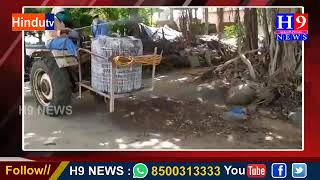 కోహెడ గ్రామంలో పిచ్చికారి చేయిస్తున్న గ్రామ పంచాయతీ సిబ్బంది
