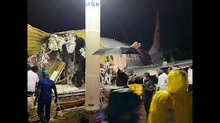Air India Express plane crash: At least 15 dead including pilot after Plane overshot runway