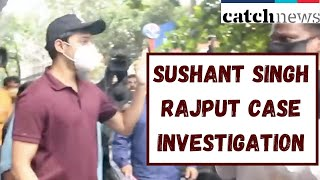 SSR Case:Rhea's Brother Showik Chakraborty Video From ED Office | Catch News