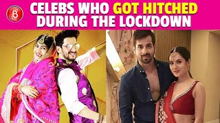 Bollywood & TV Celebs Who Got Hitched Amidst The Coronavirus Lockdown