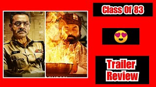 Class Of 83 Trailer Review