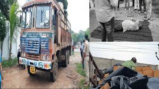 Lorry Driver Ki Shock Lagne Se Hui Maut | @ SACH NEWS |