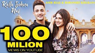 Asim Riaz - Himanshi Khurana 'Kalla Sohna Nai' Croses 100 Million Milestone
