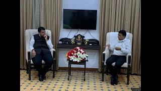 EX Maha CM Fadnavis pays visit to Goa CM says COVID-19 situation in Maha serious, says