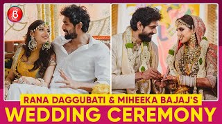 Rana Daggubati And Miheeka Bajaj's Grand Wedding | Inside Pics & Videos | Haldi | Sangeet | Marriage
