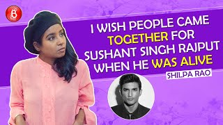 Shilpa Rao's Honest Chat On Sushant Singh Rajput, Getting Her Songs Dubbed By Others, Raat Akeli Hai