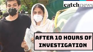 SSR Case: Rhea Chakraborty After 10 HOURS Of Investigation In ED Mumbai Office