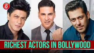 Shah Rukh Khan To Akshay Kumar To Salman Khan - Taking A Look At Bollywood's RICHEST Actors