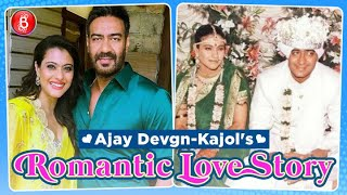 Ajay Devgn And Kajol's Romantic Love Story Is Simply Made In Heavens