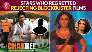 Bollywood Celebs Who Regretted Having Rejected Blockbuster Films