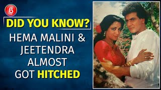 When Hema Malini And Jeetendra Almost Got Married | Dharmendra | Shobha Kapoor