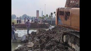 Bihar: Approach road to Bangra Ghat Mahasetu washed off hours before inauguration