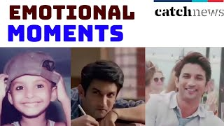 Sushant Singh Rajput Emotional Moments will Leave You Teary-Eyed! | Catch News